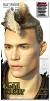 DS Gold Hair - DAZ Males